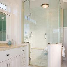 Beach Style Bathroom by Ronald F. DiMauro Architects, Inc.