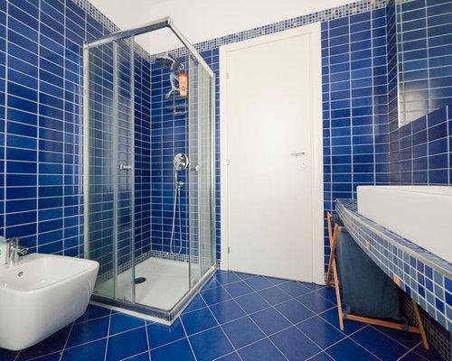 Foton och badrumsinspiration för medelhavsstil en-suite badrum ... : badrum medelhavs : Badrum