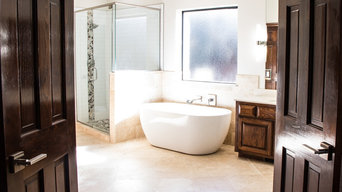 Cobblestone addition bathroom remodel