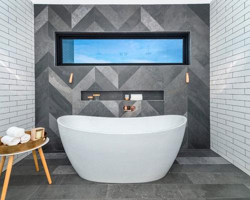 Canberra - Queanbeyan Bathroom with Wooden Worktops Ideas, Designs ...