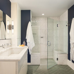 traditional bathroom by Metcalfe Architecture & Design