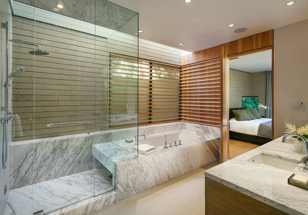 Contemporary Bathroom by Francois Collective