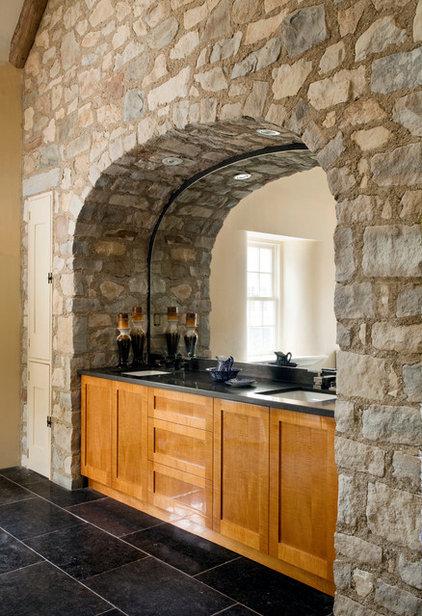 Farmhouse Bathroom by Period Architecture Ltd.