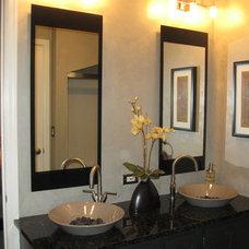 Asian Bathroom by Designer's Choice Interiors