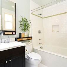 traditional bathroom by Rossington Architecture