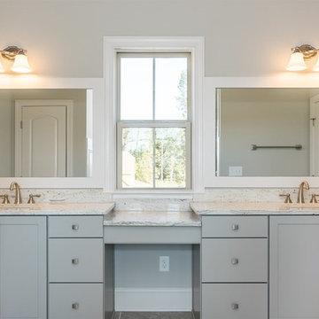 Colonial White Bathroom Vanity