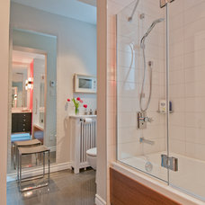 Contemporary Bathroom by Lyne Cote Designer
