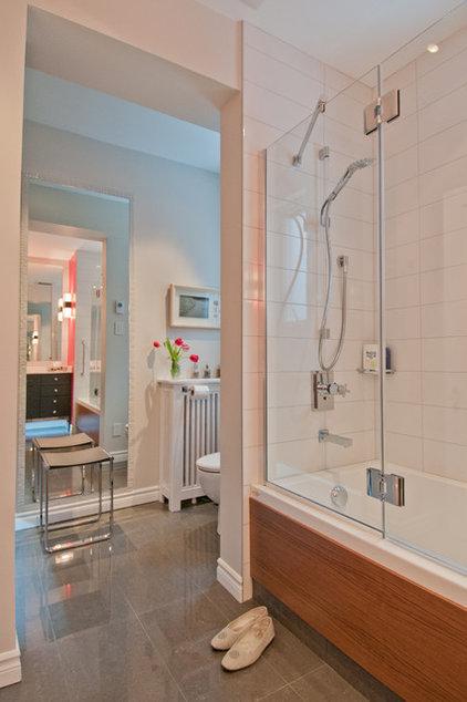 Contemporary Bathroom by Lyne Cote Designer