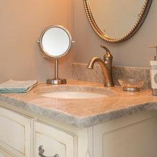 Traditional Bathroom by Decor Rx Interior Design