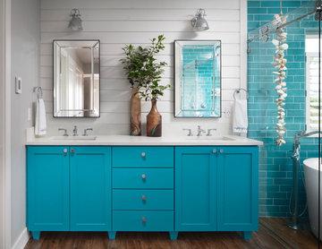 Color Pop Bath Remodel