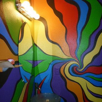 Color Ribbon Bathroom