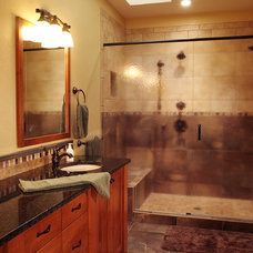 Traditional Bathroom by Hixon Interiors, Inc.