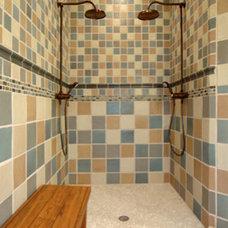 Traditional Bathroom by Rodney Kazenske