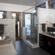 Modern Bathroom by HMH Architecture + Interiors