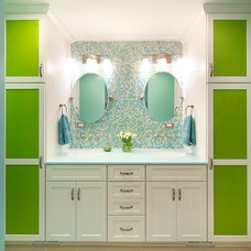 contemporary bathroom by Creative Elegance Interiors, LLC