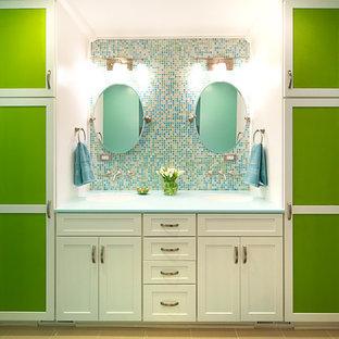 Bathroom - contemporary bathroom idea in DC Metro