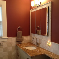 Contemporary Bathroom by inspirationCOLOR - Jacki Tate
