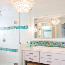 Beach Style Bathroom by Brittney Nielsen Interior Design
