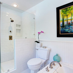 eclectic bathroom by Stephanie Wiley Photography
