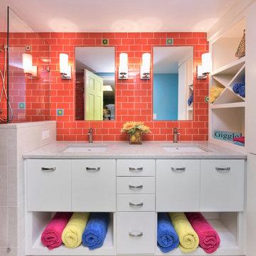 Colorful Kids Bath