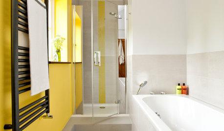 22 Bathrooms That Rock a Narrow Floor Plan