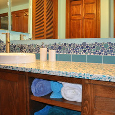 Eclectic Bathroom by Ventana Construction LLC