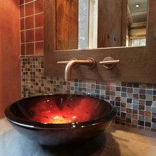 Contemporary Bathroom by Dragonfly Designs