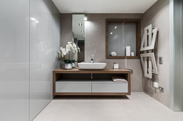 Contemporaneo Stanza da Bagno by NG-STUDIO Interior Design. Sanremo
