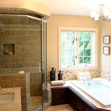 Traditional Bathroom by Emily Elizabeth Interior Design
