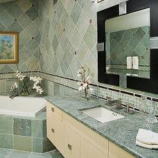 Modern Bathroom by Ron Nathan Interior Design Group