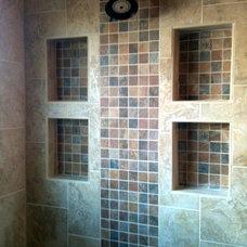 Traditional Bathroom by Creative Custom Renovations