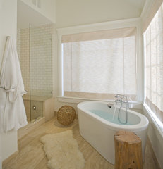 contemporary bathroom by H&H Design