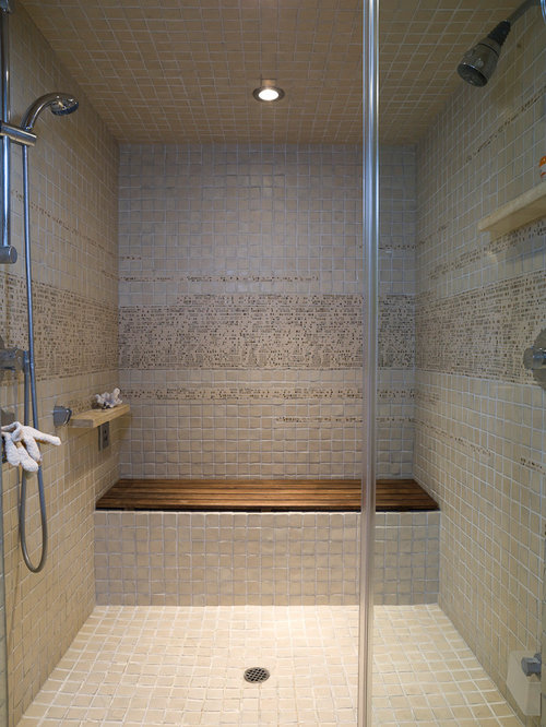 Teak Shower Bench Houzz