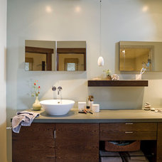 Contemporary Bathroom by Angela Dechard Design