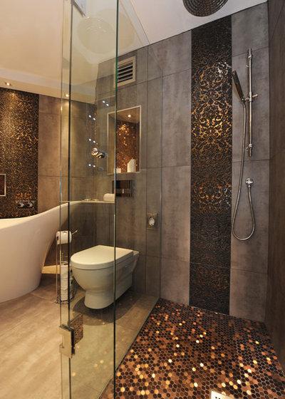 Современный Ванная комната by Helen scott