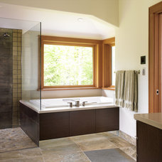 Modern Bathroom by The Sky is the Limit Design
