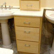 Eclectic Bathroom by Scott Haig, CKD