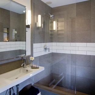 Fotos de baños | Diseños de baños pequeños con ducha abierta