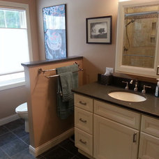 Traditional Bathroom by Keith Construction