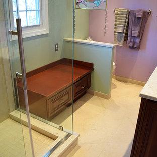 Complete Bathroom Remodel with Frameless Shower Doors