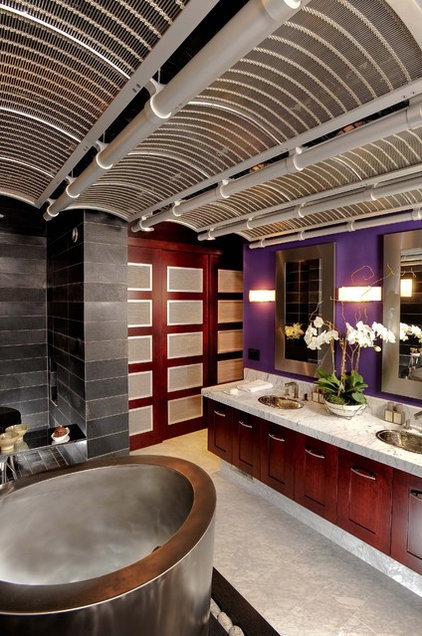 modern bathroom by Danenberg Design