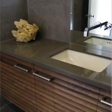 Modern Bathroom by Kevin O'Connor Design