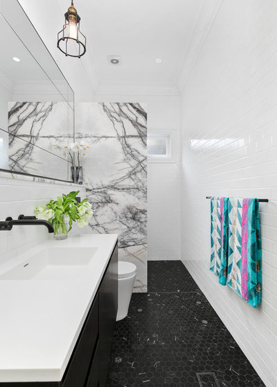 Contemporary Bathroom by Amalfi Tiles