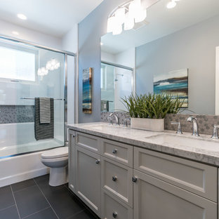 Turquoise And Gray Bathroom Ideas Houzz