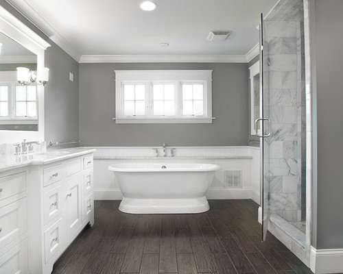 Dark Floor Bathroom Ideas