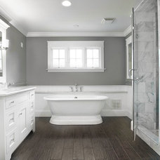 Traditional Bathroom by Michaelson Homes LLC