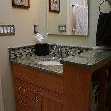 Contemporary Bathroom by Specialty Craftsmen, Inc.