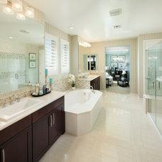 Traditional Bathroom by Meritage Homes