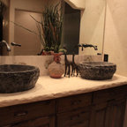 Concrete Countertops Envison Traditional Kitchen