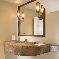 Eclectic Bathroom by JM Lifestyles
